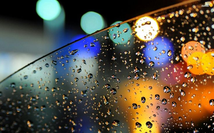 Rainy Car Window Photography HD Desktop Wallpaper Rain