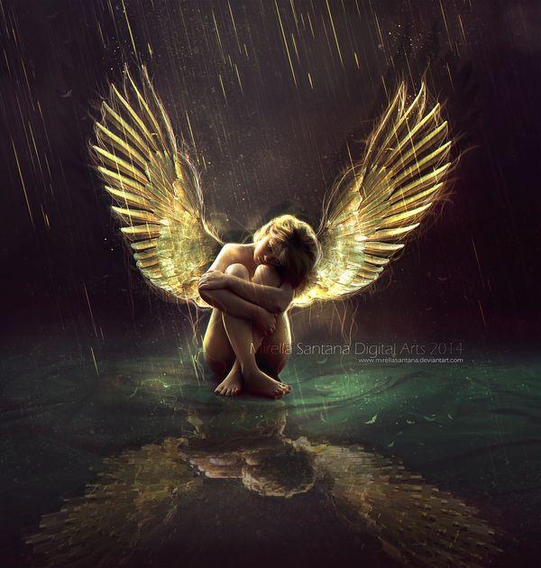 Картинки ангелов плачущий