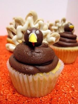 Turkey Cupcakes!: Holidays Cupcakes, Thanksgiving Turkey, Cupcakes Galor, Thanksgiving Food, Baking Ideas, Thanksgiving Cupcakes, Cups Cakes, Cupcakes Rosa-Choqu, Turkey Cupcakes