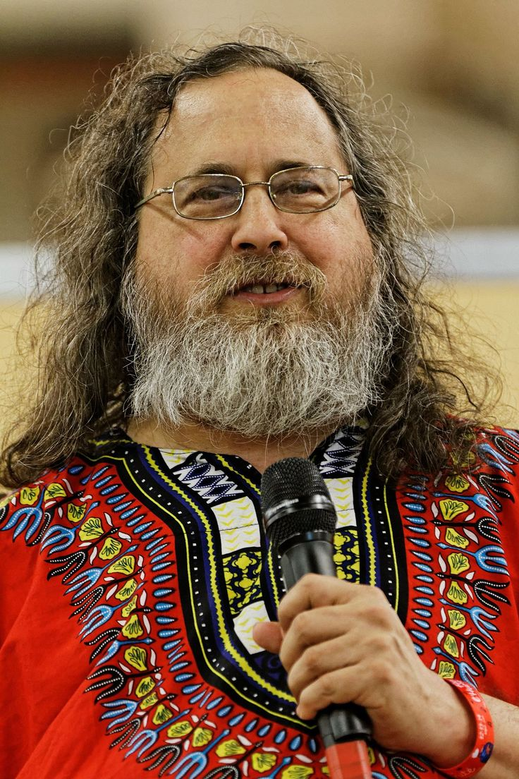 Richard Stallman is an American software freedom activist and programmer.  He launched the GNU Project, founded the Free Software Foundation, developed the GNU Compiler Collection and GNU Emacs, and wrote the GNU General Public License.