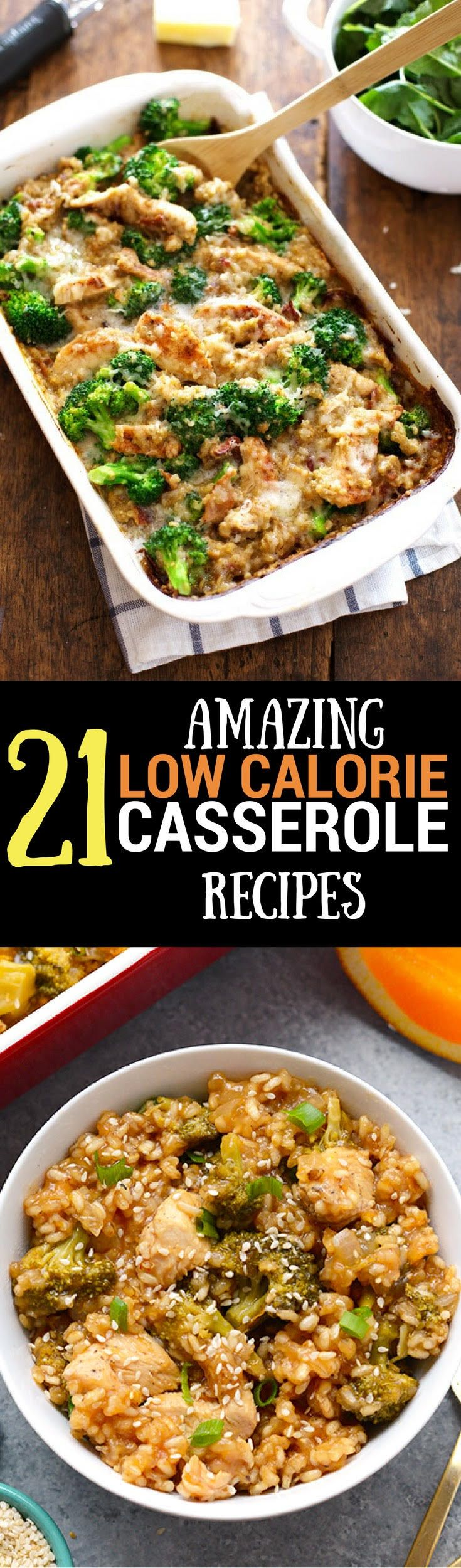 21 Low Calorie Casserole Recipes