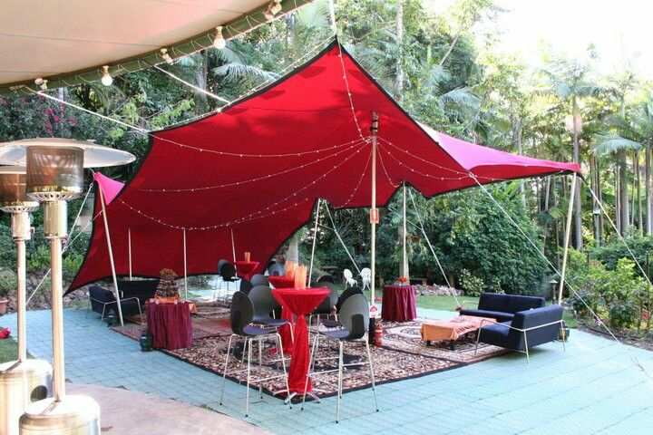 Check out this sassy little outdoor backyard lounge. A 3x6 red stretch tent to set the mood. http://www.stretchedevents.com/  #outdoor #stretchtent #eventhire #stretched_events #romantic #love #customdecor #eventhire #stretched_events #love #eventstyling #eventinspo #events #morocco #bohemian #boho #creative #decor #wedding #unique #function #stretchtent #beautiful #festival #party