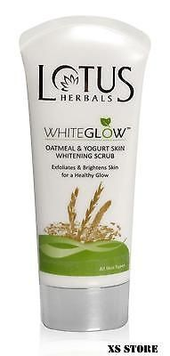 awesome Lotus 100 gm Whiteglow Oatmeal & Yogurt Skin Face Whitening & Brightening Scrub - For Sale Check more at http://shipperscentral.com/wp/product/lotus-100-gm-whiteglow-oatmeal-yogurt-skin-face-whitening-brightening-scrub-for-sale/