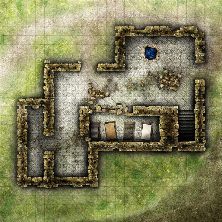 House Rpg Battle Maps – Jerusalem House