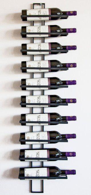 Casier à vin Etagère Étagère à vin Dies 116cm en métal pour 10 bouteilles Porte-bouteilles Porte-bouteilles 11699: Amazon.fr: Cuisine & Maison