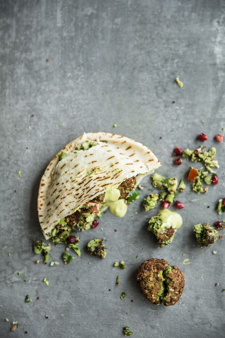 Blue apron falafel - Super Green Falafel With Turmeric Tahini Sauce Cook Republic