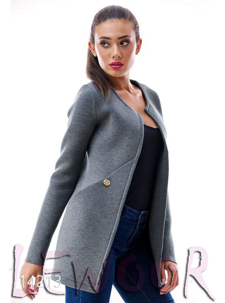 Красивый пиджак из неопрена - купить оптом и в розницу, интернет-магазин женской одежды lewoor.com