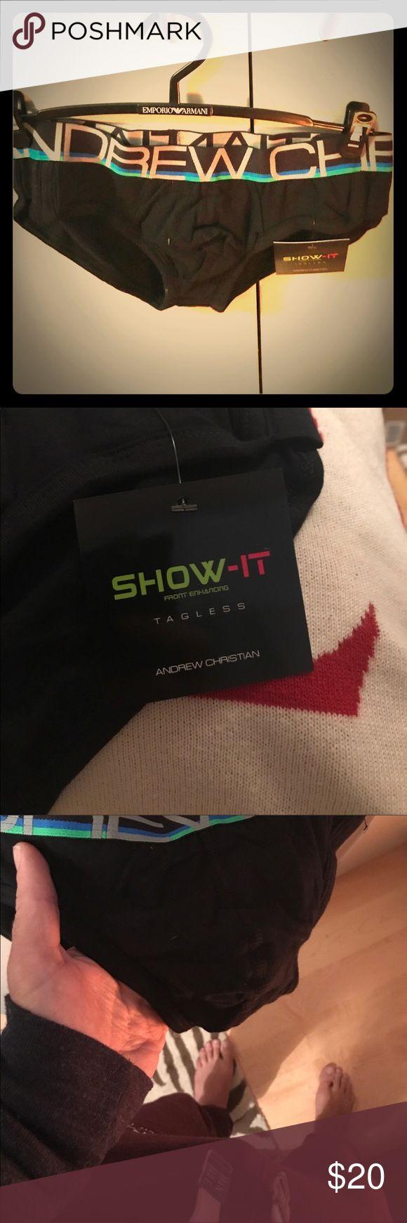 Andrew Christian Retro Show-It !  🏹🖤 Andrew Christian Retro Show-It !  🏹🖤 Andrew Christian Underwear & Socks Briefs