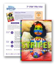 Book-based lesson plan for primary grades on relationships | A Bad Case of the Stripes