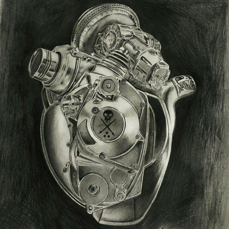 Motorized Heart by ArtByCasey