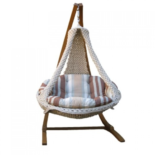 37 best images about macrama on pinterest swing chairs for Macrame hanging chair