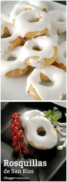 :) Rosquillas de San Blas   Más en https:/cocina/lomejordelaweb.es