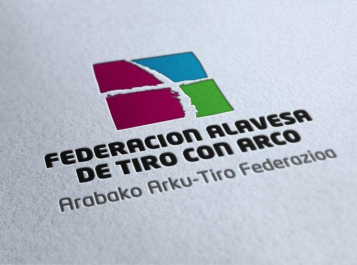 FEDERACION ALAVESA DE TIRO CON ARCO. Logo ganador del concurso.