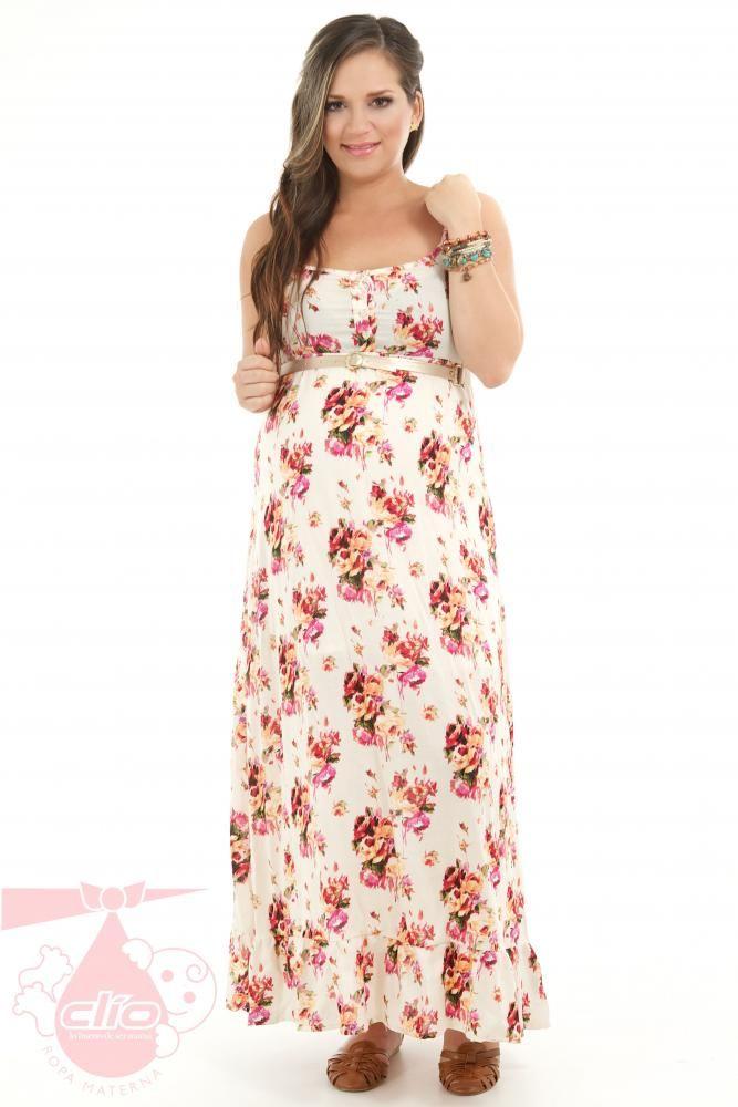 #Vestidos #maternos con un estilo cómodo. Diseños que se ajustan a tus necesidades durante tu #embarazo.
