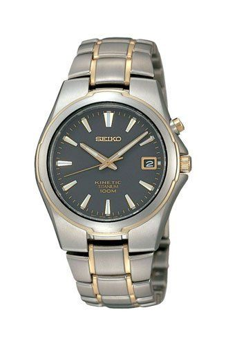 SEIKO SKA214P1 MEN KINETIC,TITANIUM,100M WR,BRAND NEW,SKA214 Seiko. $238.00