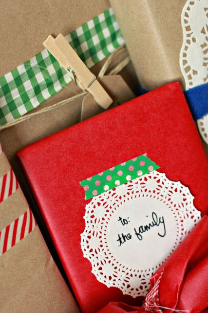 Just Another Day in Paradise: Country Christmas Gift wrapping