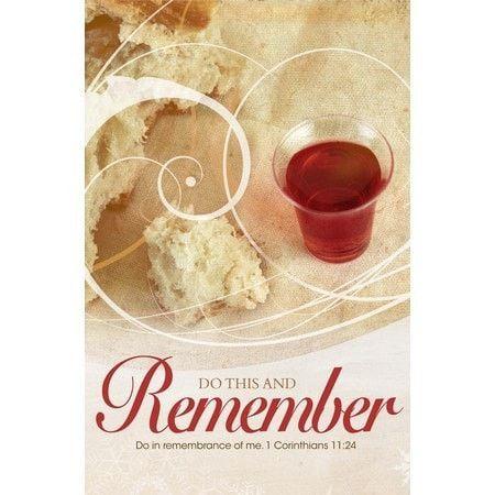 Do In Remembrance (1 Corinthians 11:24) Bulletins, 100