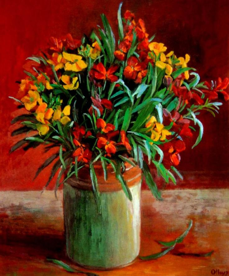 Wall Flowers (1972) Margaret Olley