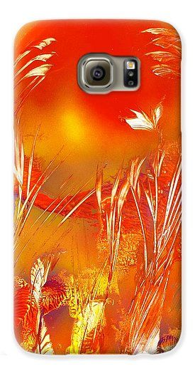 Spring On The Red Planet Galaxy S6 Case Printed with Fine Art spray painting image Spring On The Red Planet by Nandor Molnar (When you visit the Shop, change the orientation, background color and image size as you wish)