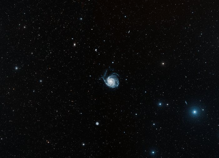 Digitized Sky Survey 2 image of the Pinwheel Galaxy (ground-based image)