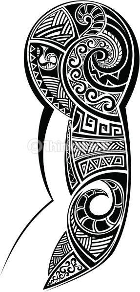 Clipart vectoriel : Tatouage conçu pour une épaule