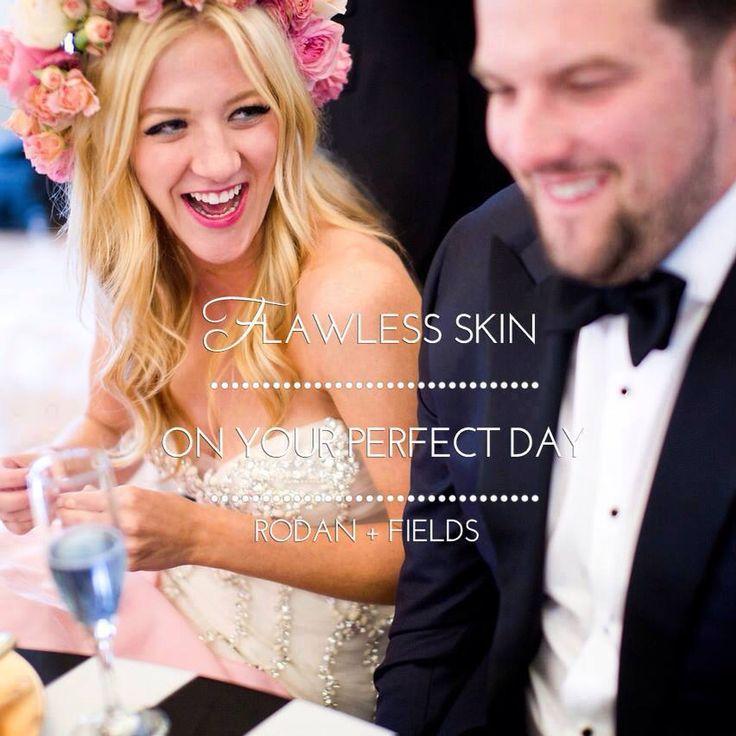 Flawless skin on your wedding day! Rodan+Fields Dermatologist can help!! #rodanandfieldsarizona https://jboyette2.myrandf.com/