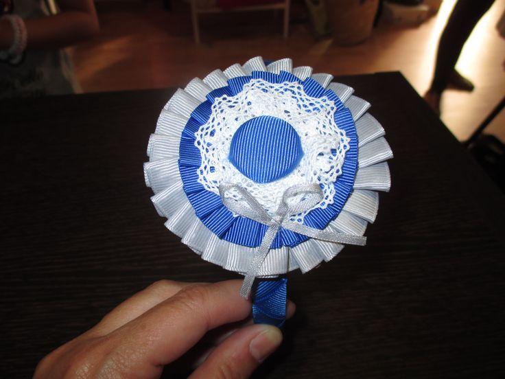 diadema hecha a mano para ceremonia