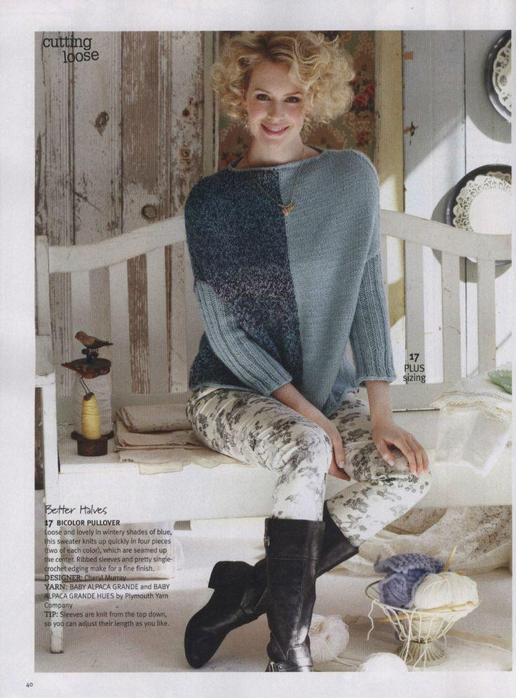 Knit Simple Winter 2013 - 轻描淡写 - 轻描淡写