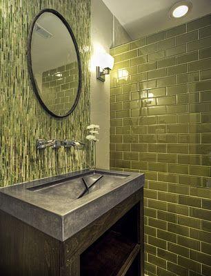 """olive green"" bathroom - Google Search"