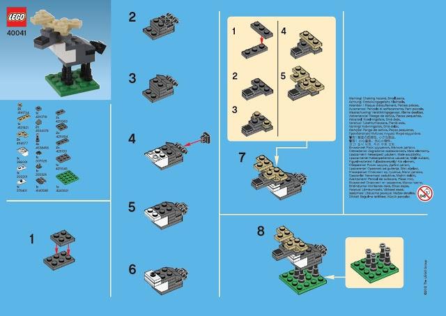 Mini Brick Spot: LEGO Mini Moose
