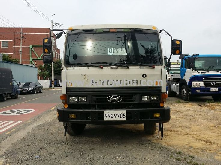 1991 Hyundai hyundai tractor head