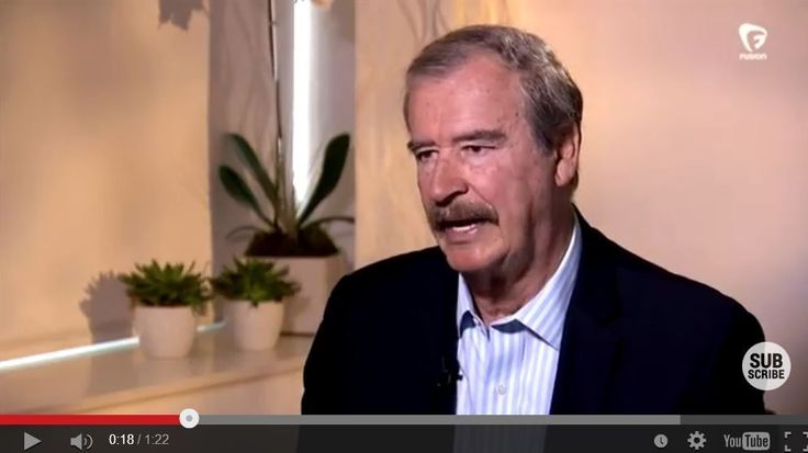 Former Mexican President Vicente Fox on Donald Trump: 'I'm not going to pay for that f------ wall' - LA Times