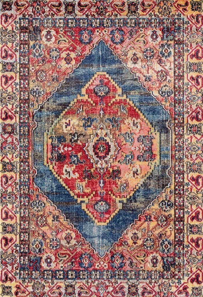 Amazon Com Lux Weavers 6532 Multi Colored Oriental 8 X 10 Area Rug Carpet Large New Kitchen Dining Persian Area Rugs Rugs On Carpet Colorful Oriental Rugs