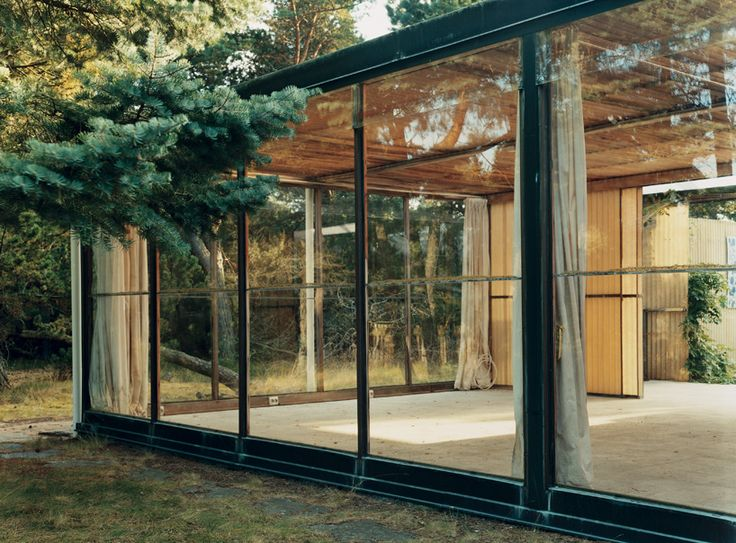 Summer House by Bruno Matthson – Frösakull, Sweden  (Stunning Photos of Abandoned Mid-Century Modern Homes  by Claire Cottrell)