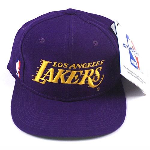 vintage la sports specialties script hat lakers baseball cap uk