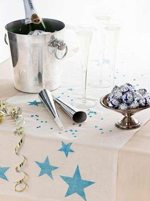 New Year's Eve Table Runner