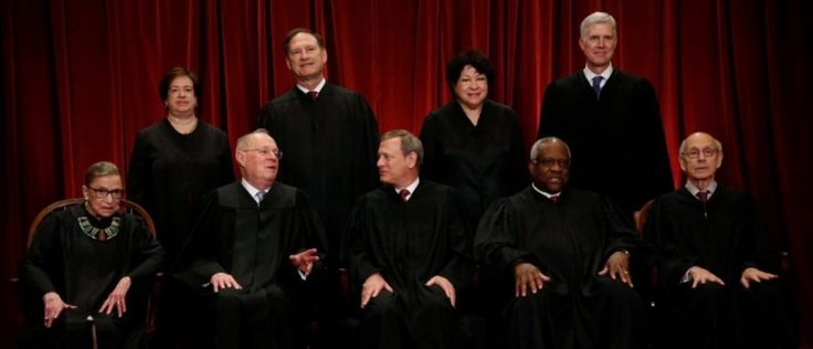 6/27/17 The Next SCOTUS Term Looks Like A Blockbuster  The Supreme Court has set a loaded, controversial docket for its next term, electing to review high-profile immigration, gerrymandering, Fourth-Amendment and LGBT cases for its 2017 sitting.