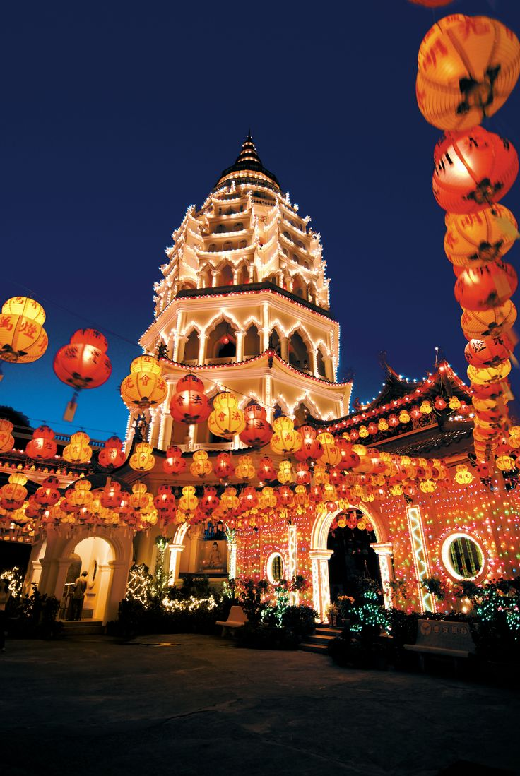 The amazing Kek Lok Si is the largest Buddhist Temple in South East Asia. Overlooking Georgetown, Penang, it is a spectacular cultural destination- especially at night!