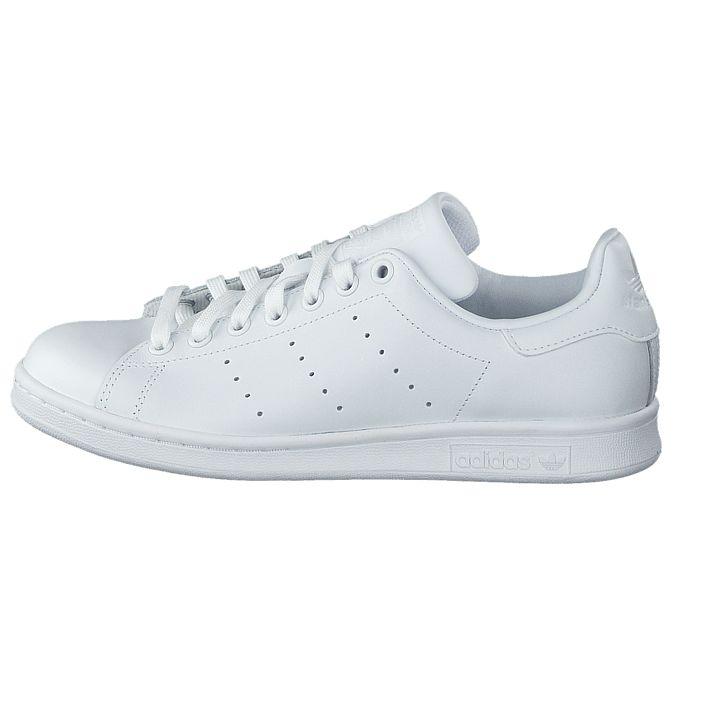 Kjøp adidas Originals Stan Smith Ftwr White Hvite sko | Lave Sneakers for Herre & Dame ✓ Fri frakt ✓ Fri retur ✓ Rask levering. Prisgaranti!