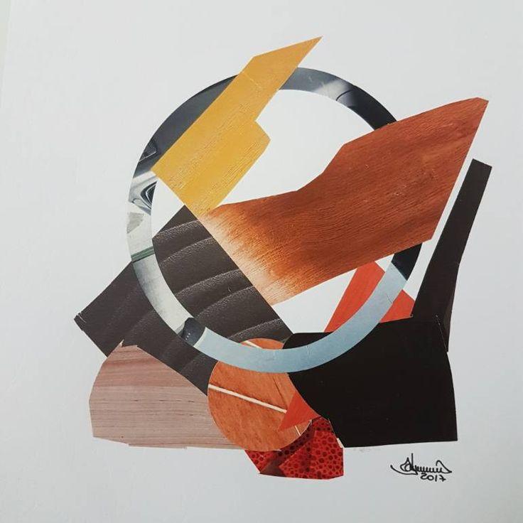 "Saatchi Art Artist Richard Brandão; Collage, ""COMPOSIÇÕES N°004"" #art"