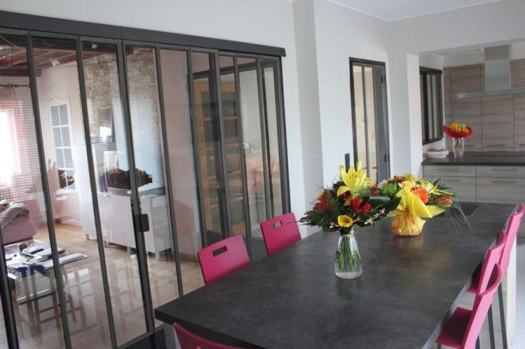 1000 id es propos de baie coulissante sur pinterest baie vitr e coulissante fen tres. Black Bedroom Furniture Sets. Home Design Ideas