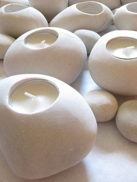 What do you think of these interesting and #modern #candle votives?