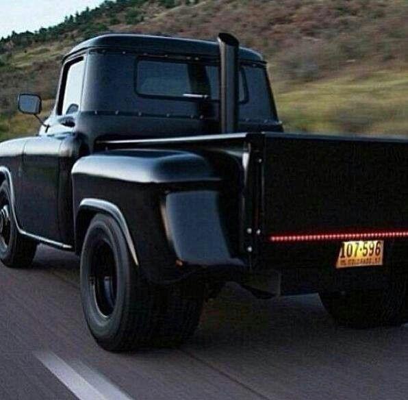 57' Chevy pickup with 6.6L LB7 Duramax Diesel <3 <3 <3 <3 soooo in love!!