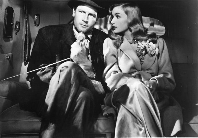 Veronica Lake and Joel McCrea in Sullivan's Travels. I LOVE this movie!