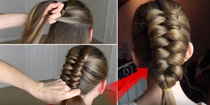 Paso a paso: ¿cómo hacer el peinado de la trenza infinita?