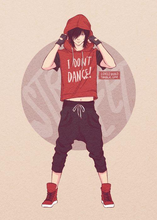 DANCE MAJORS AU. Hip-Hop dancer Keith