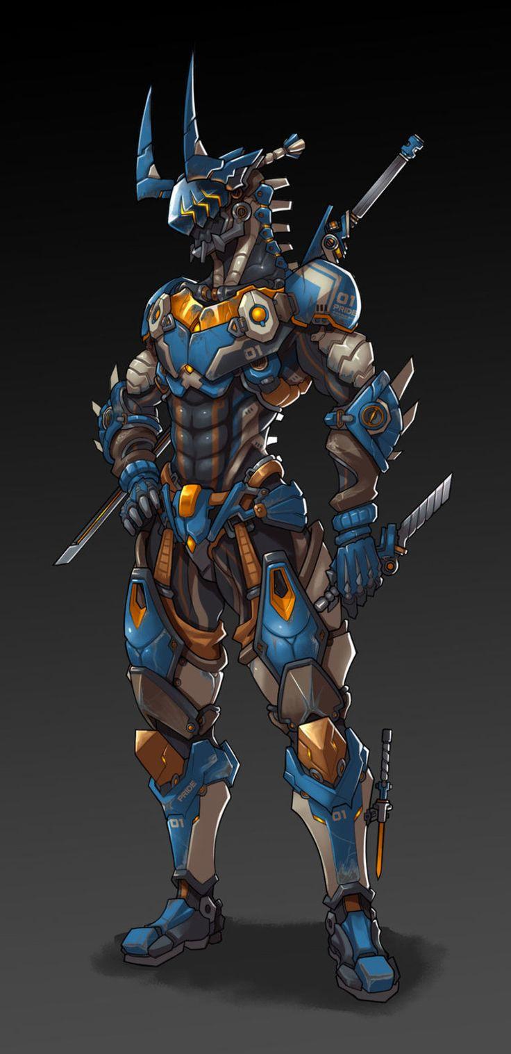 Robótica, armaduras, máscaras y C.F.