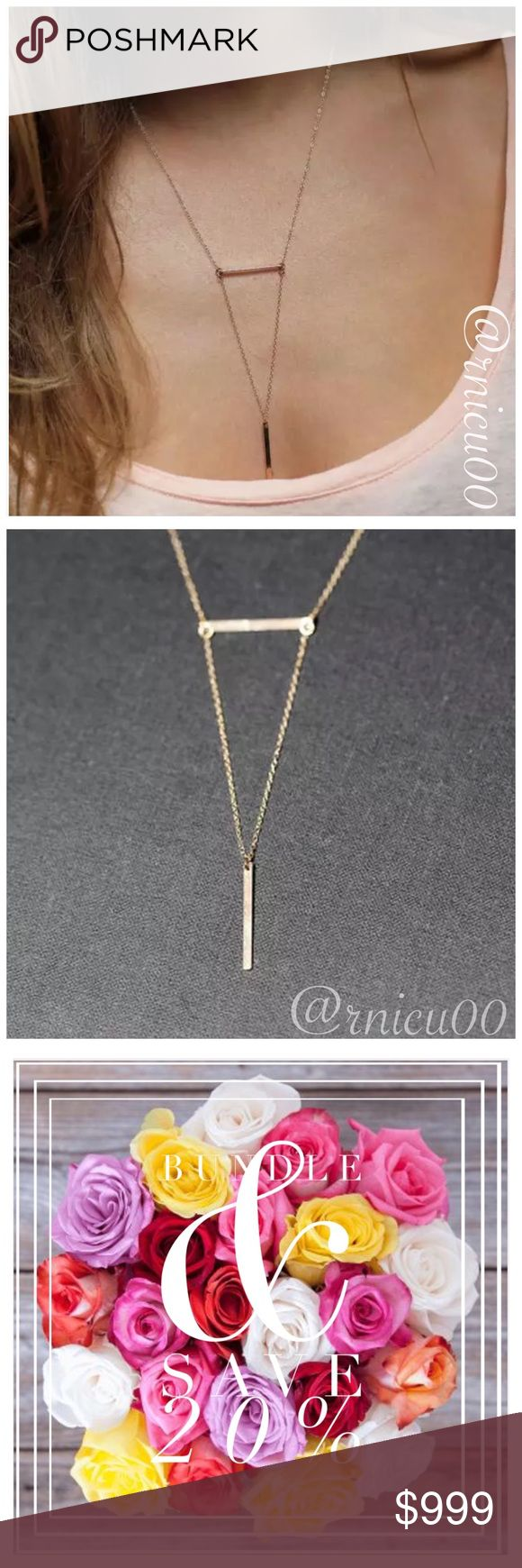 """🆕Arrival! Boho Pendant Minimalist Necklace! HOT 2017 Trend- Multi-Layered Minimalist, Boho, Sexy Style Necklace!   ✨Gold Plated ✨Lobster Clasp Closure, 2"""" Extender   *NO TRADES *Prices are FIRM-Listed at Lowest Price Unless BUNDLED! *Sales are Final-Please Read Descriptions! Boutique Jewelry Necklaces"""