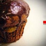 Mini Sachertorte | Muffin al cacao e gelatina di albicocca