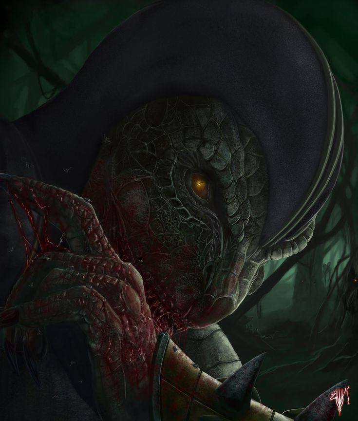Reptile (MK) Fan Art by Esau13  